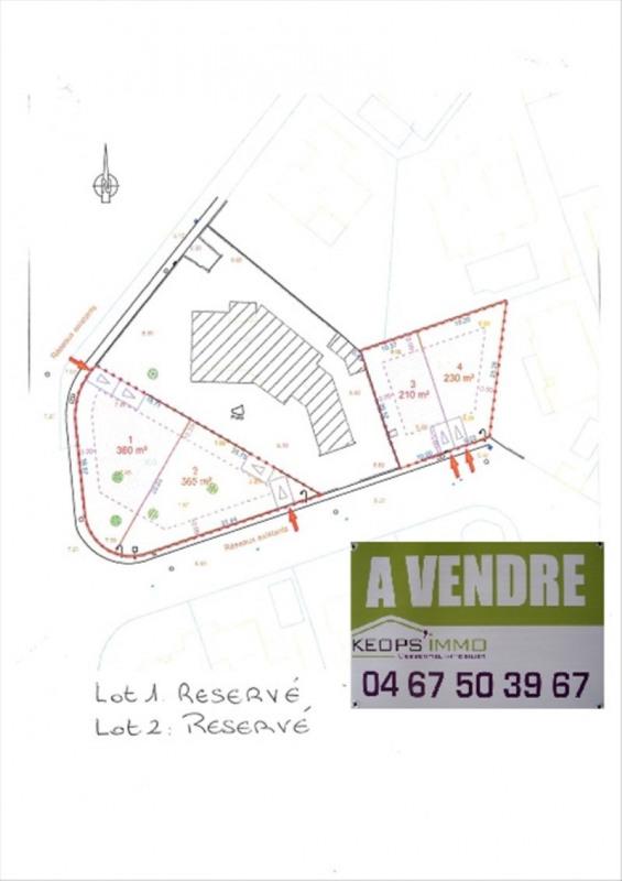 Sale site Perols 130000€ - Picture 2