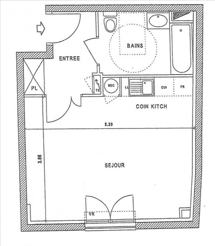 Rental apartment Le raincy 790€ CC - Picture 5