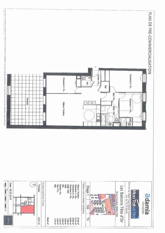 Deluxe sale apartment Lyon 6ème 755000€ - Picture 1