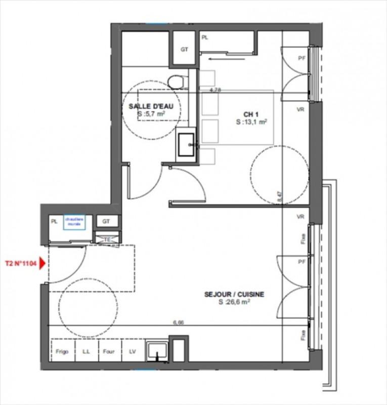 Vente appartement Arcachon 297000€ - Photo 2