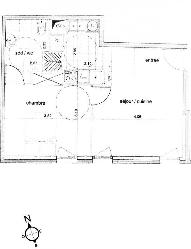 Sale apartment Bagnolet 255000€ - Picture 9