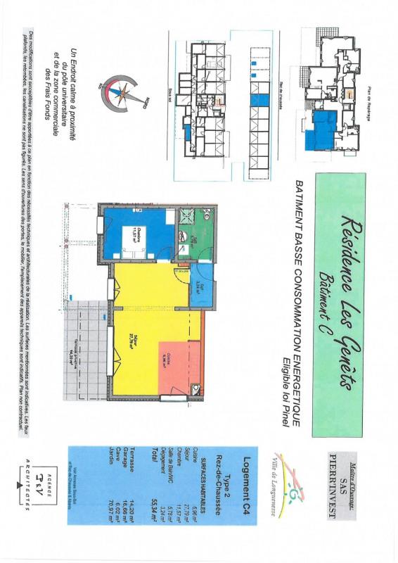 Vente appartement Longuenesse 183000€ - Photo 2
