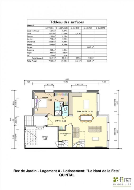 Immobile residenziali di prestigio casa Quintal 595000€ - Fotografia 4