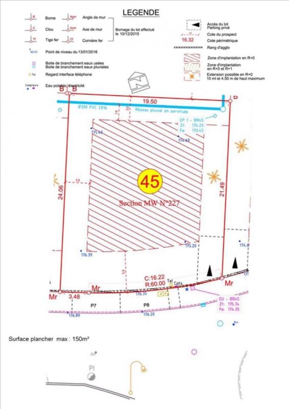 Sale site Carcassonne 48000€ - Picture 2