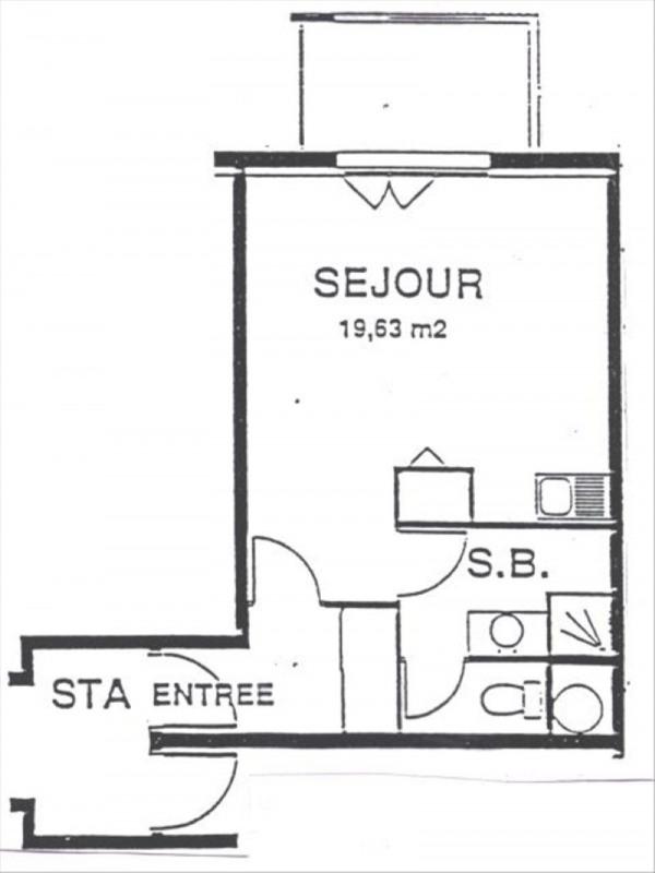 Location appartement Gif sur yvette 580€ CC - Photo 7