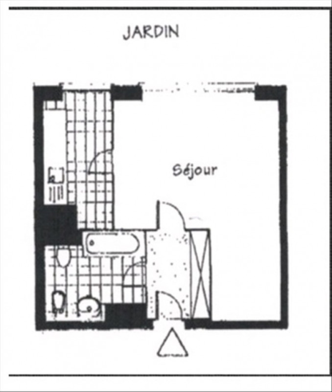 Vente appartement Paris 8ème 425000€ - Photo 8