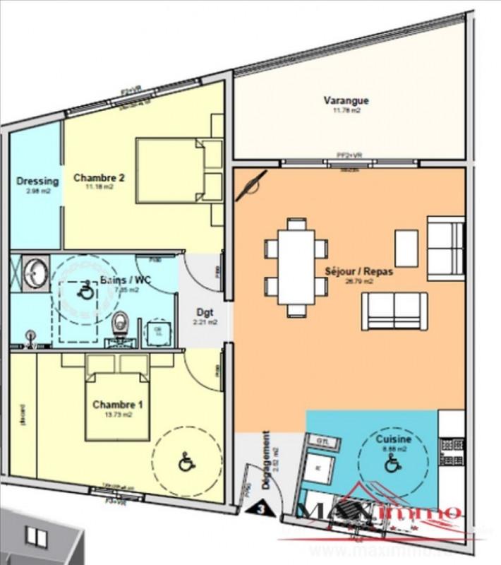 Vente appartement St denis 298000€ - Photo 2