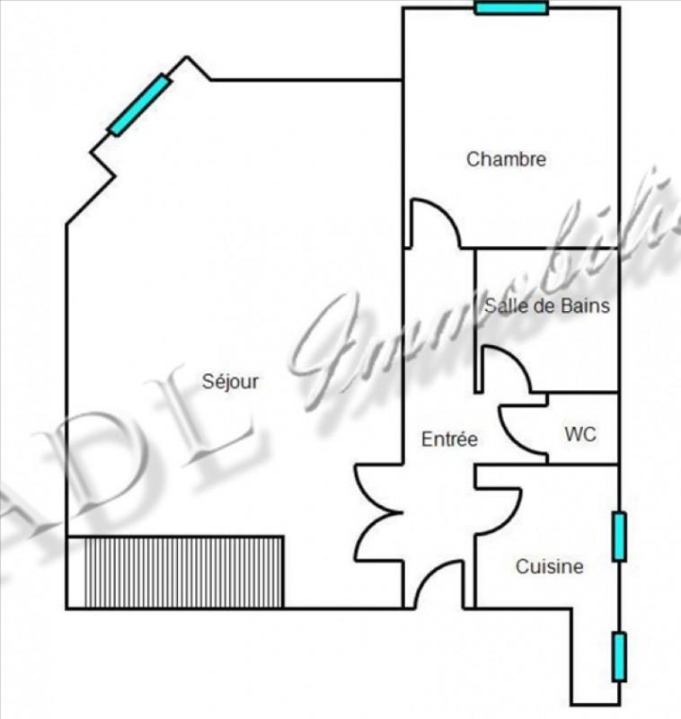 Sale apartment Coye la foret 238000€ - Picture 4