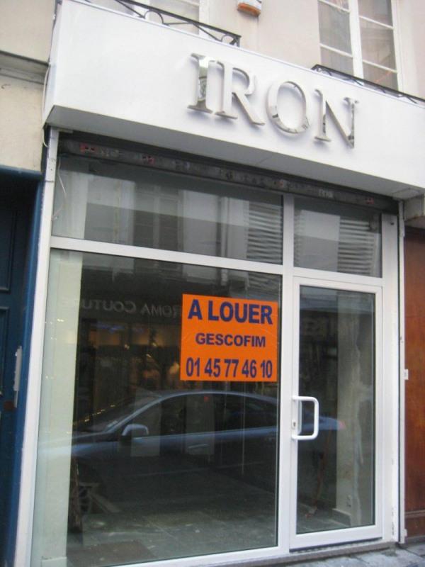 Location local commercial Paris 2ème 1800€ HT/HC - Photo 1