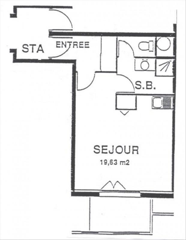 Rental apartment Gif sur yvette 654€ CC - Picture 6