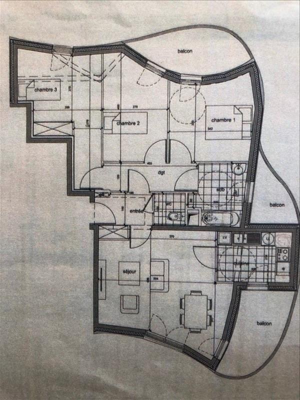 Vente appartement Gentilly 360000€ - Photo 3