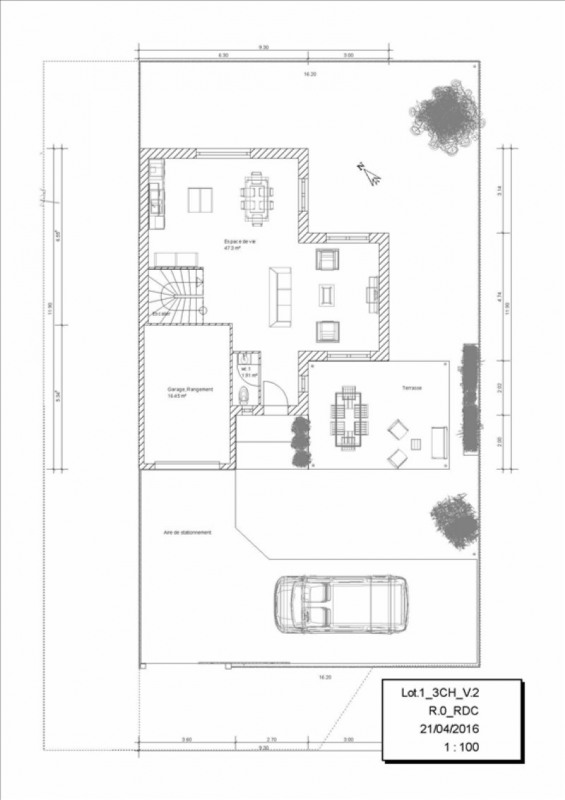 Vente maison / villa Orgeval 417162€ - Photo 3