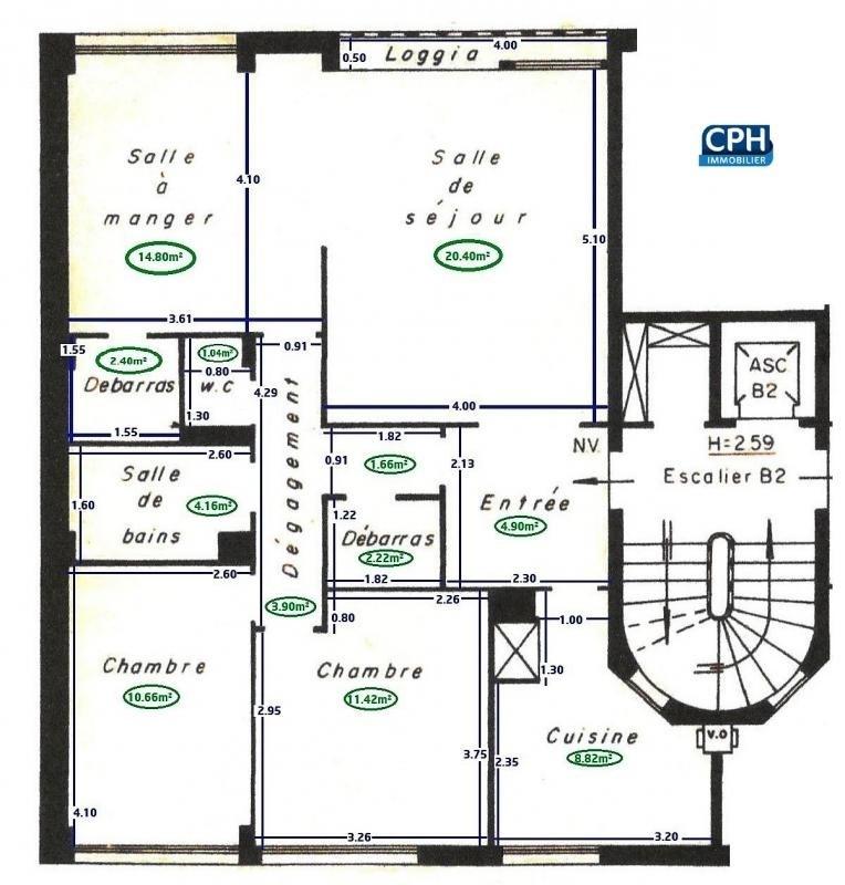 Vente de prestige appartement Fontenay sous bois 507000€ - Photo 7