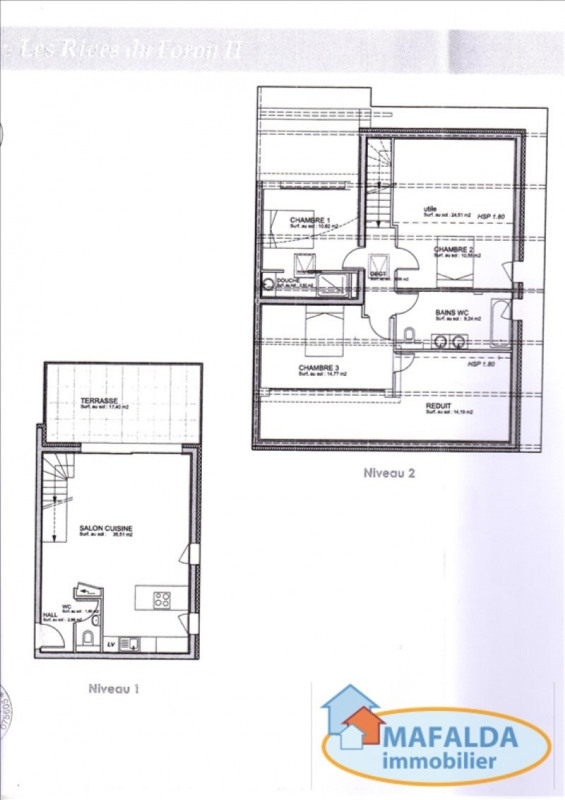 Sale apartment Amancy 346 000€ - Picture 1
