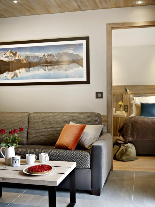 Deluxe sale apartment Les houches 304167€ - Picture 2