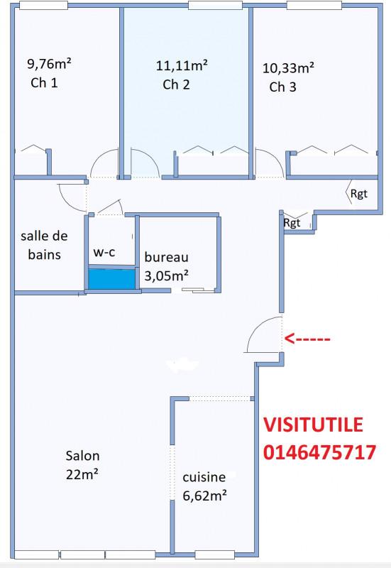 Vendita appartamento Sèvres 388000€ - Fotografia 2