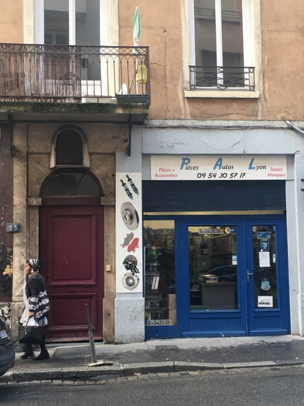 winkel Lyon 7ème 156450€ - Foto 1