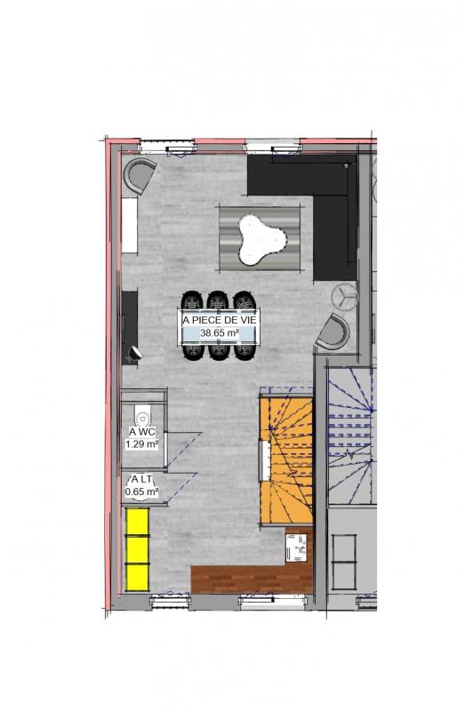 Vente appartement Bouffémont 269000€ - Photo 3