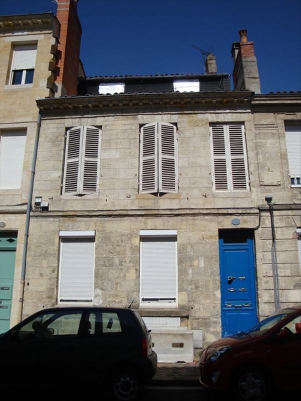 Sale apartment Bordeaux 142000€ - Picture 1