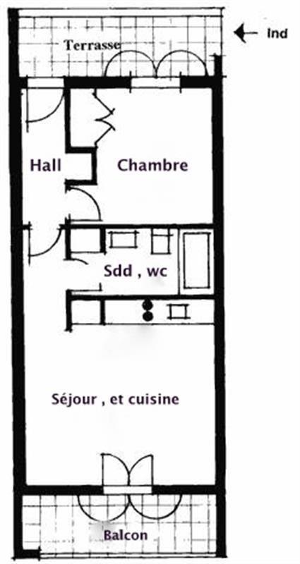 Venta  apartamento Seillans 127000€ - Fotografía 4