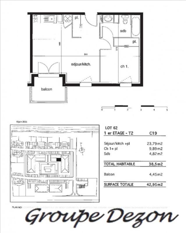 Vente appartement Montauban 66000€ - Photo 1