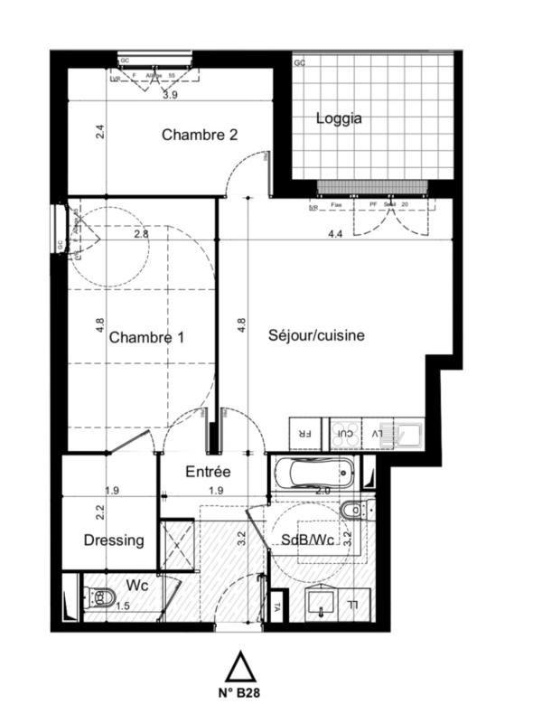 Sale apartment Plaisir 244000€ - Picture 2
