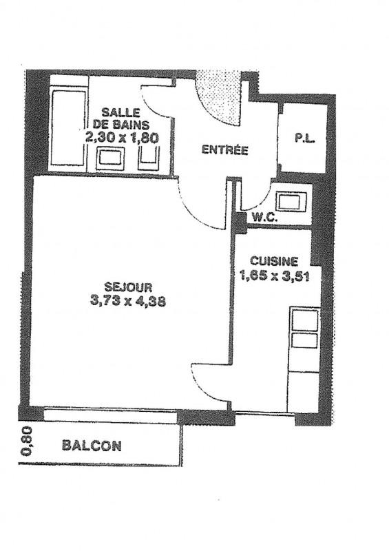Verhuren  appartement Vincennes 990€ CC - Foto 1