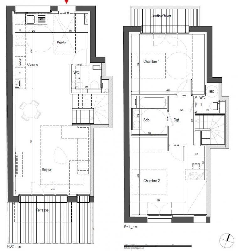 Venta de prestigio  apartamento Clamart 570000€ - Fotografía 2