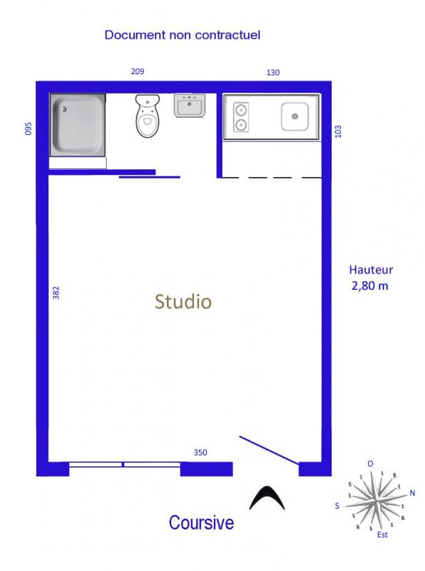 Location appartement Paris 16ème 595€ CC - Photo 4