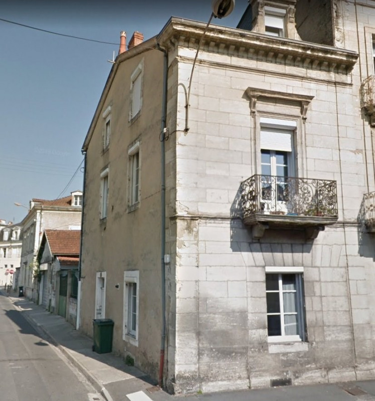 Immeuble centre ville + cour + garage 60 m²