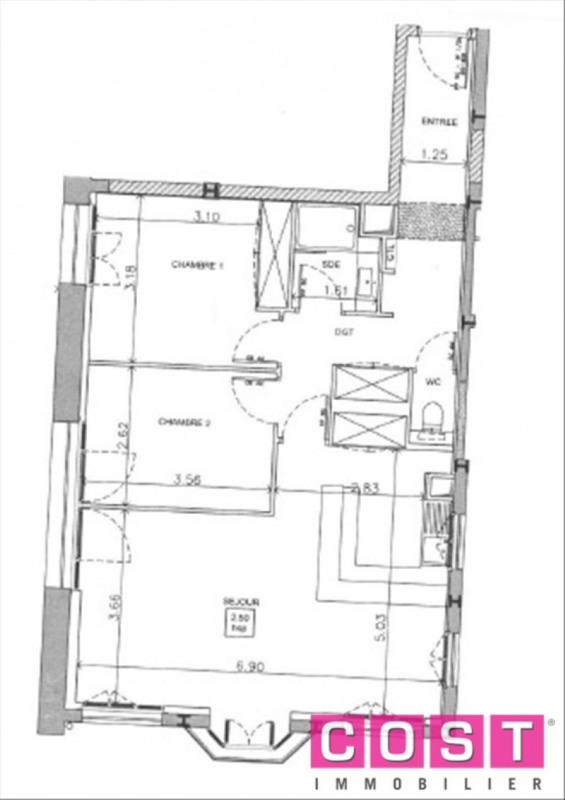 Vendita appartamento Asnieres sur seine 693000€ - Fotografia 2