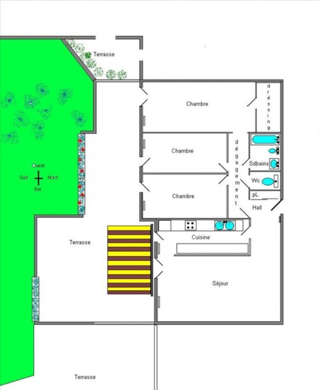 Sale apartment Grenoble 174005€ - Picture 3