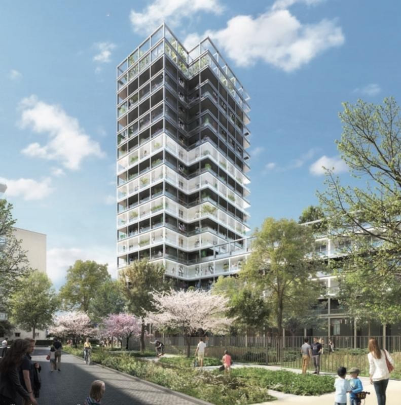Sale apartment Asnieres sur seine 388 066€ - Picture 1