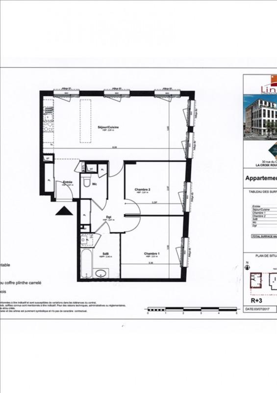 Rental apartment Lyon 4ème 1180€ CC - Picture 2