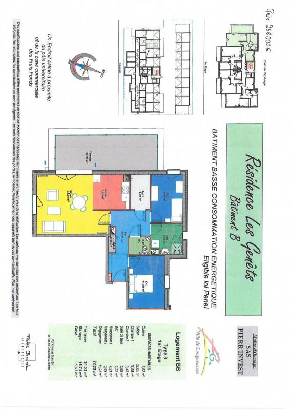 Vente appartement Longuenesse 258000€ - Photo 2