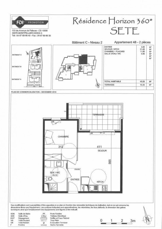 Rental apartment Sete 579€ CC - Picture 2