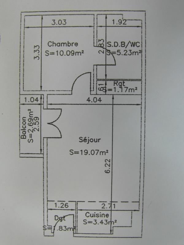 Sale apartment St denis 110000€ - Picture 2