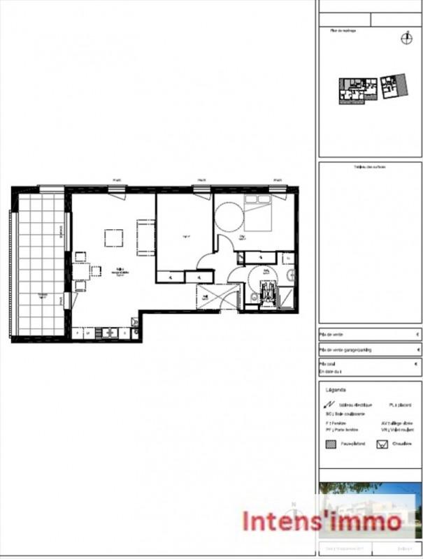 Sale apartment Bourg de peage 189000€ - Picture 2