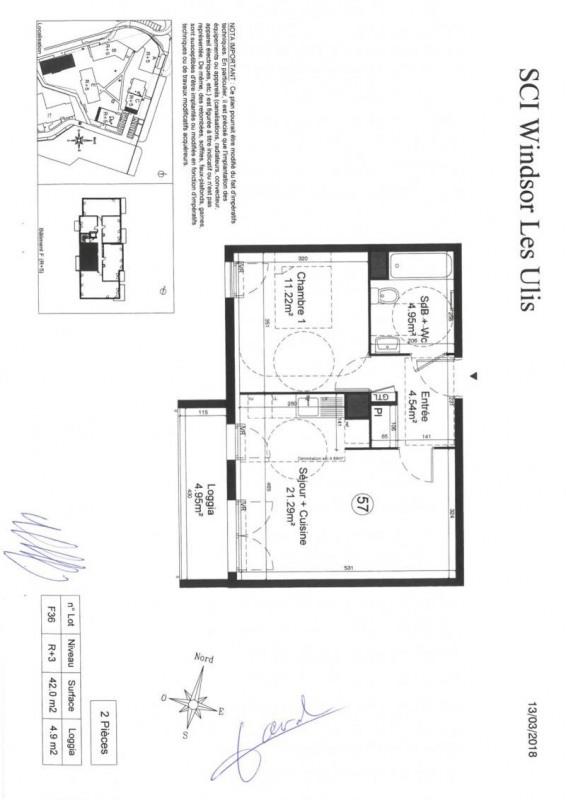 Sale apartment Les ulis 170000€ - Picture 3