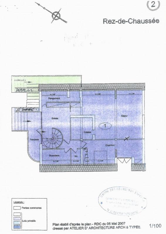 Vendita appartamento Andilly 448000€ - Fotografia 7