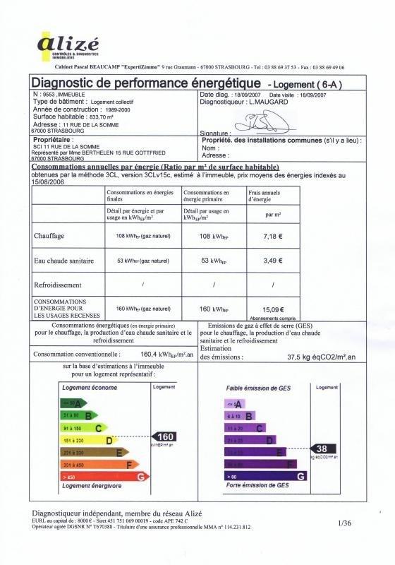 Vermietung wohnung Strasbourg 500€ CC - Fotografie 17