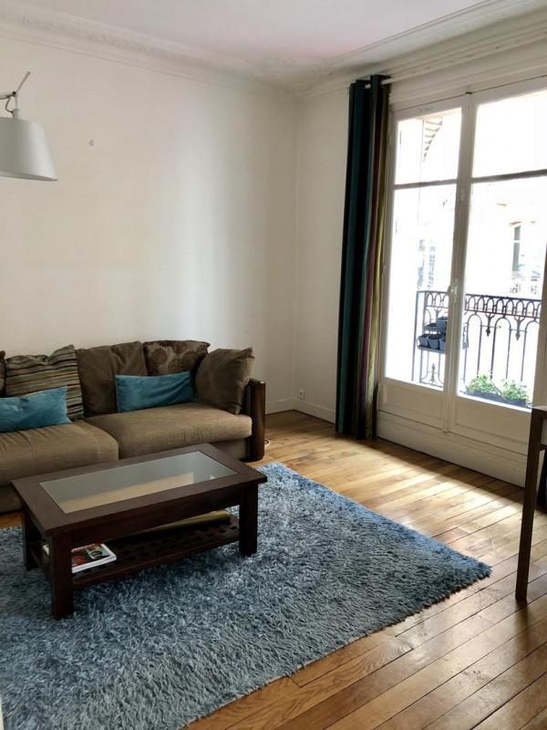 Rental apartment Paris 17ème 2900€ CC - Picture 2