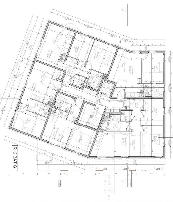Venta  apartamento Strasbourg 181000€ - Fotografía 3
