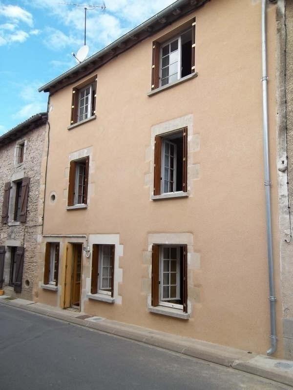 Vente maison / villa Lussac les chateaux 39500€ - Photo 1