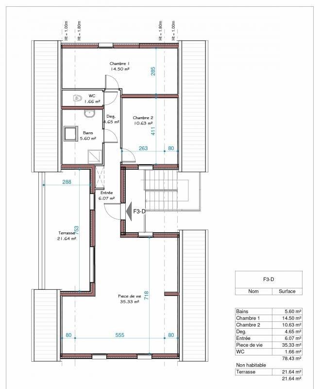 Vente appartement Attenschwiller 313120€ - Photo 3