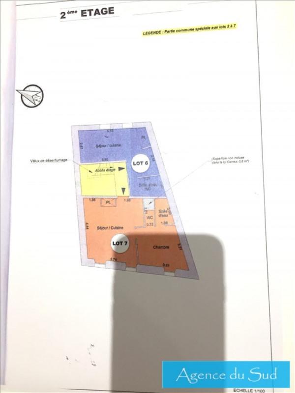 Produit d'investissement appartement Aubagne 85000€ - Photo 1