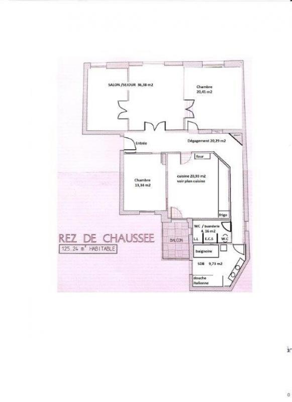Rental apartment Strasbourg 1430€ CC - Picture 3