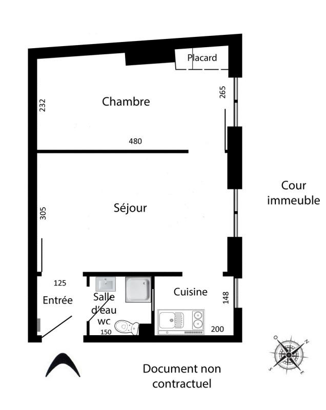 Location appartement Paris 12ème 910€ CC - Photo 2