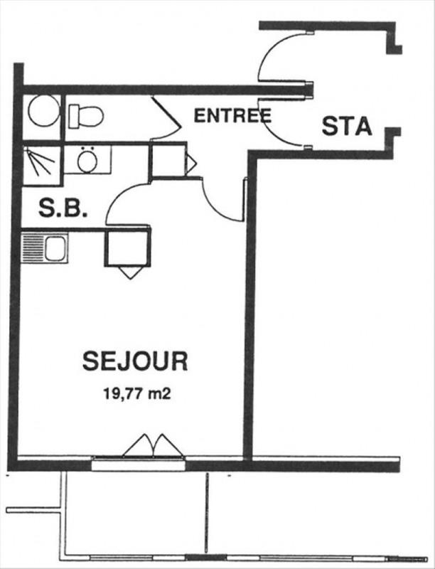 Rental apartment Gif sur yvette 660€ CC - Picture 8