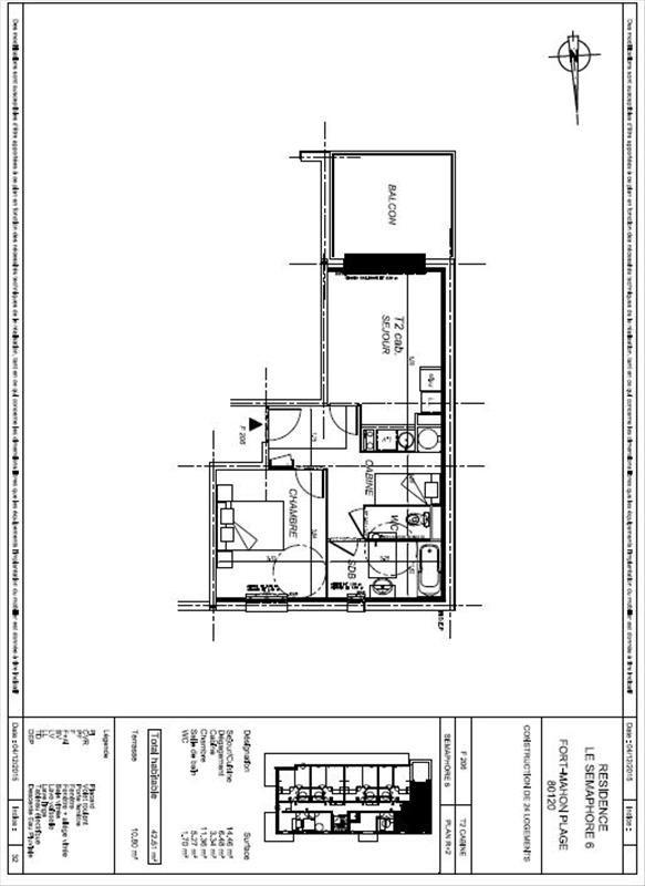 Vente appartement Fort mahon plage 164000€ - Photo 5